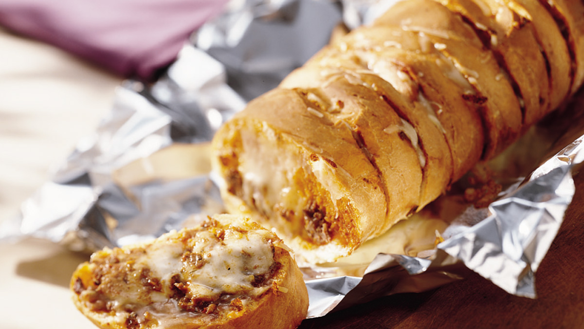 Italiano Cheese & Mushroom Stuffed Bread