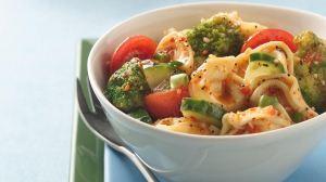 Marinated Garden Tortellini Salad-foodflag