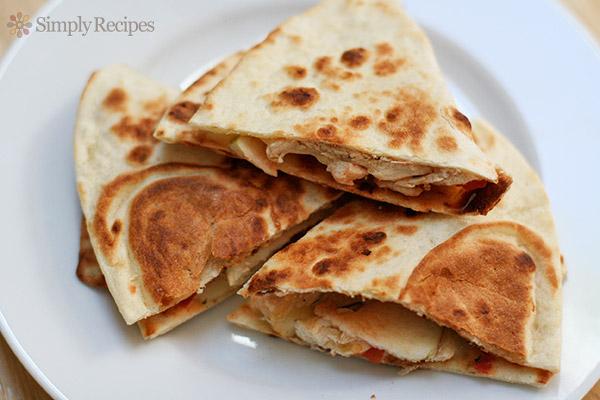 Apple Chicken Quesadilla-foodflag