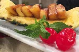 Tangy Tandoori Pineapple Dessert Recipe