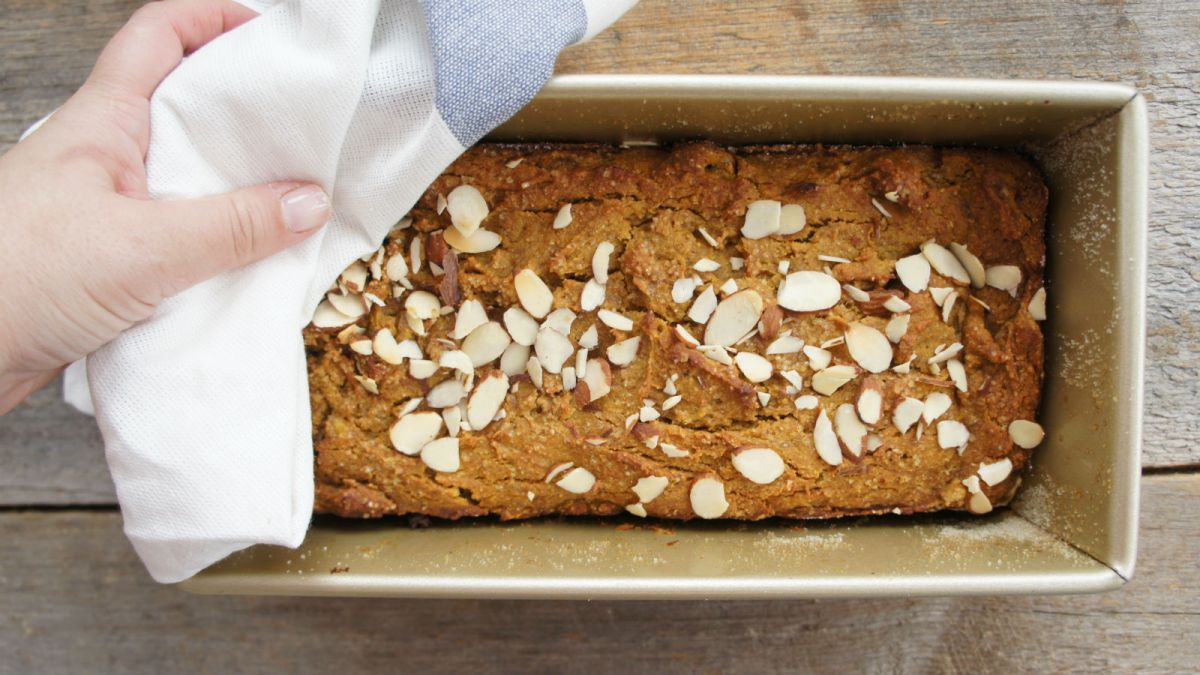 Banana Pumpkin Bread Recipe for Passover
