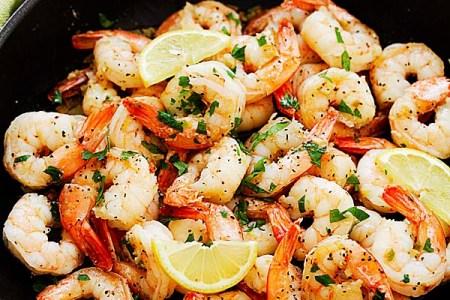 Lemon Pepper Shrimp