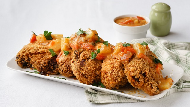Crunchy Hawaiian Chicken Recipe