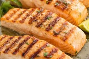 Cilantro Lime Grilled Salmon