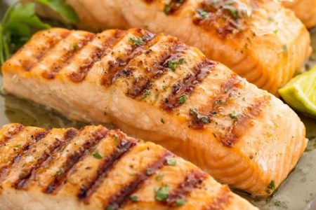 Cilantro Lime Grilled Salmon