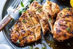Quick Grilled Chicken with Oregano Recipe