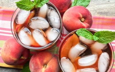 Ginger-Peach  Iced  Tea