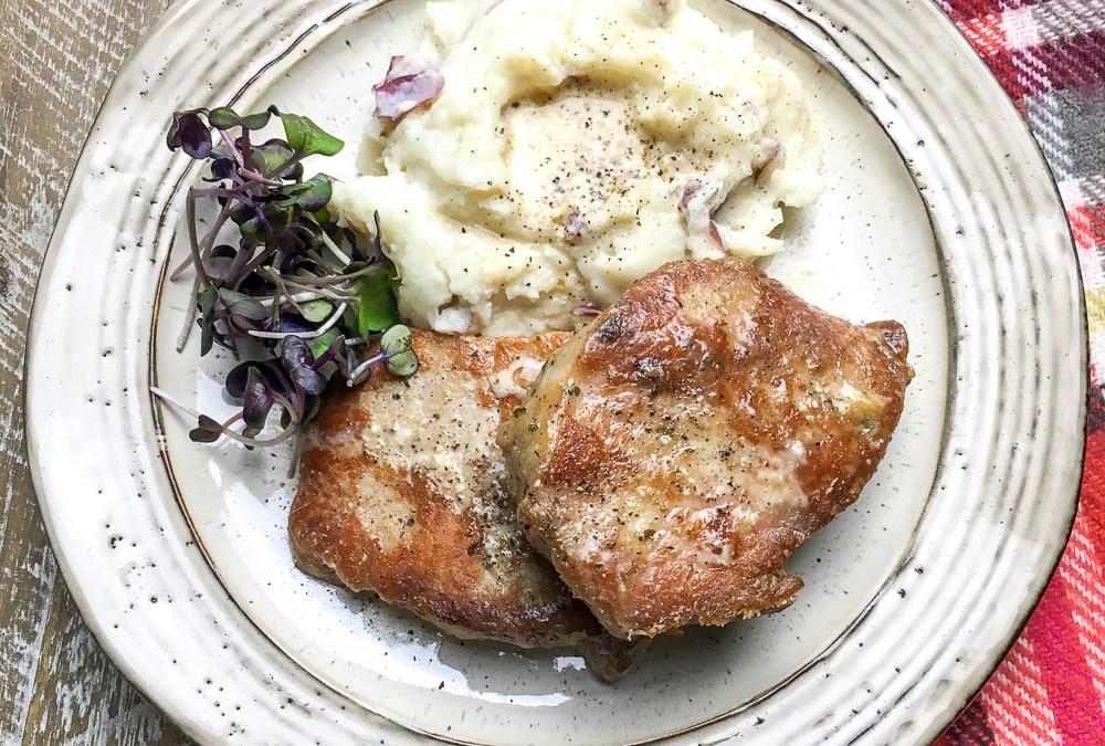 Instant Pot Boneless Pork Chops