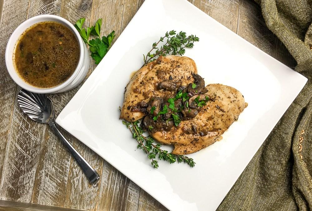Instant Pot Italian Chicken Breasts