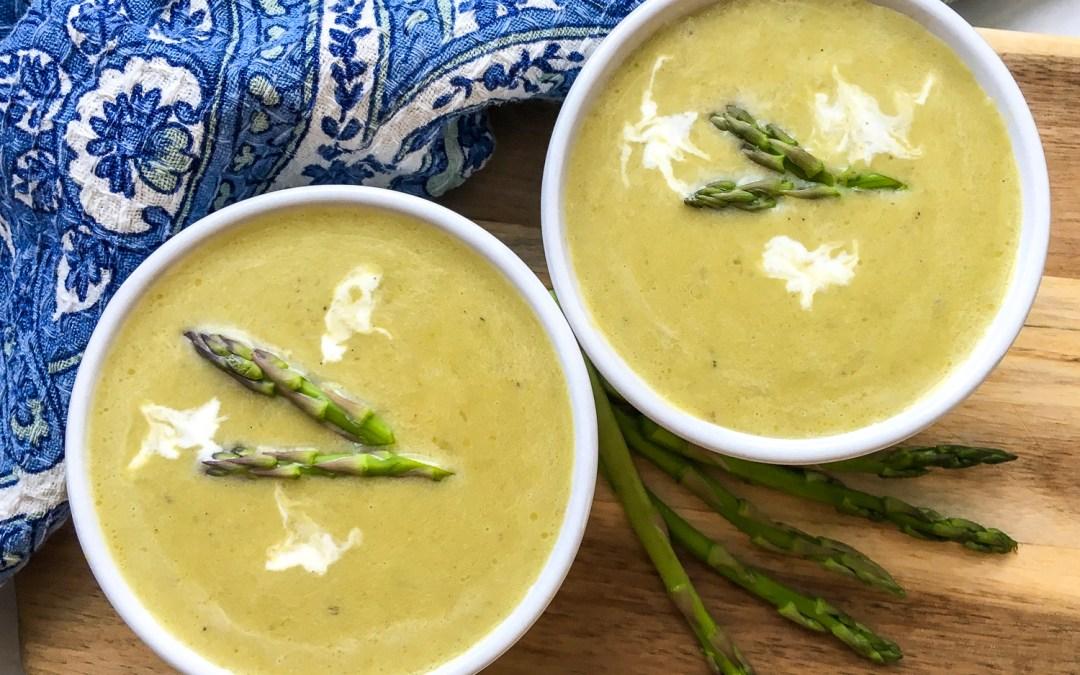 Instant Pot® Creamy Asparagus Soup