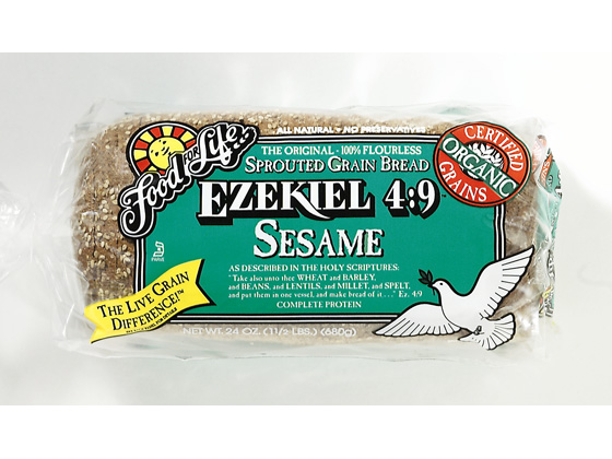 Ezekiel 4:9 Organic Sprouted Whole Grain Sesame Bread
