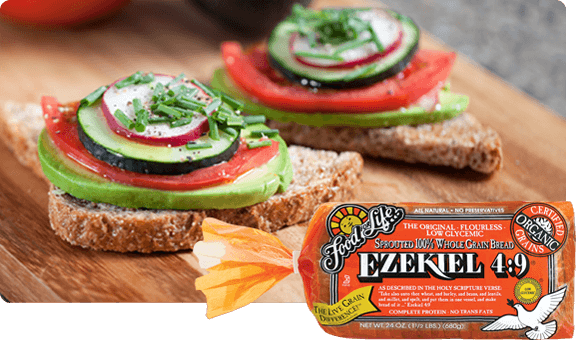 EZEKIEL 4:9® SPROUTED WHOLE GRAIN BREAD