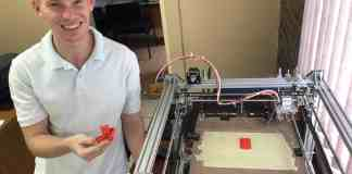 Abel Nortje, designed and build his own 3D printer as part of a student employee programme offered by South African farming enterprise ZZ2.