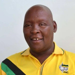 Free State MEC for agriculture and rural development, William Bulwane.
