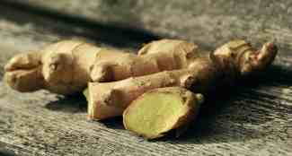 Ginger helps reduce fever and can also relieve a sore throat.