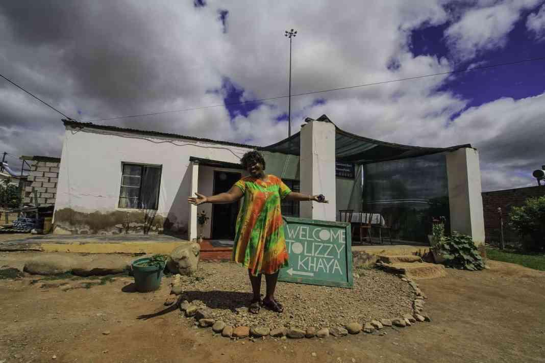 Welcome to Lizzy's Khaya! Photo: Chris Marais