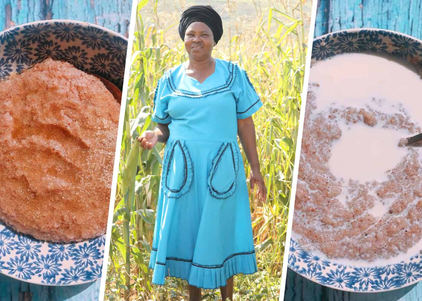 KwaZulu-Natal small scale farmer Nokuthula Khoza is using her extended maize crops to make masa to create other dishes for her family to enjoy.