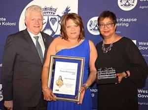 In 2015 Eugene won the Western Cape DAFF Top Female Entrepreneur Award.