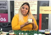 Seipati Masango's (33) love for skincare has grown into a booming enterprise she calls - Organic Touch by Miss Gates.