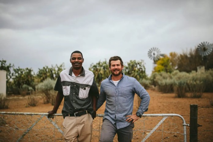 Demetrius and Juan were friends before they became business partners. Picture: Willem van der Berg/Landbouweekblad