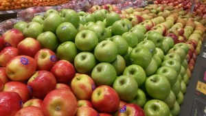 apples pesticide