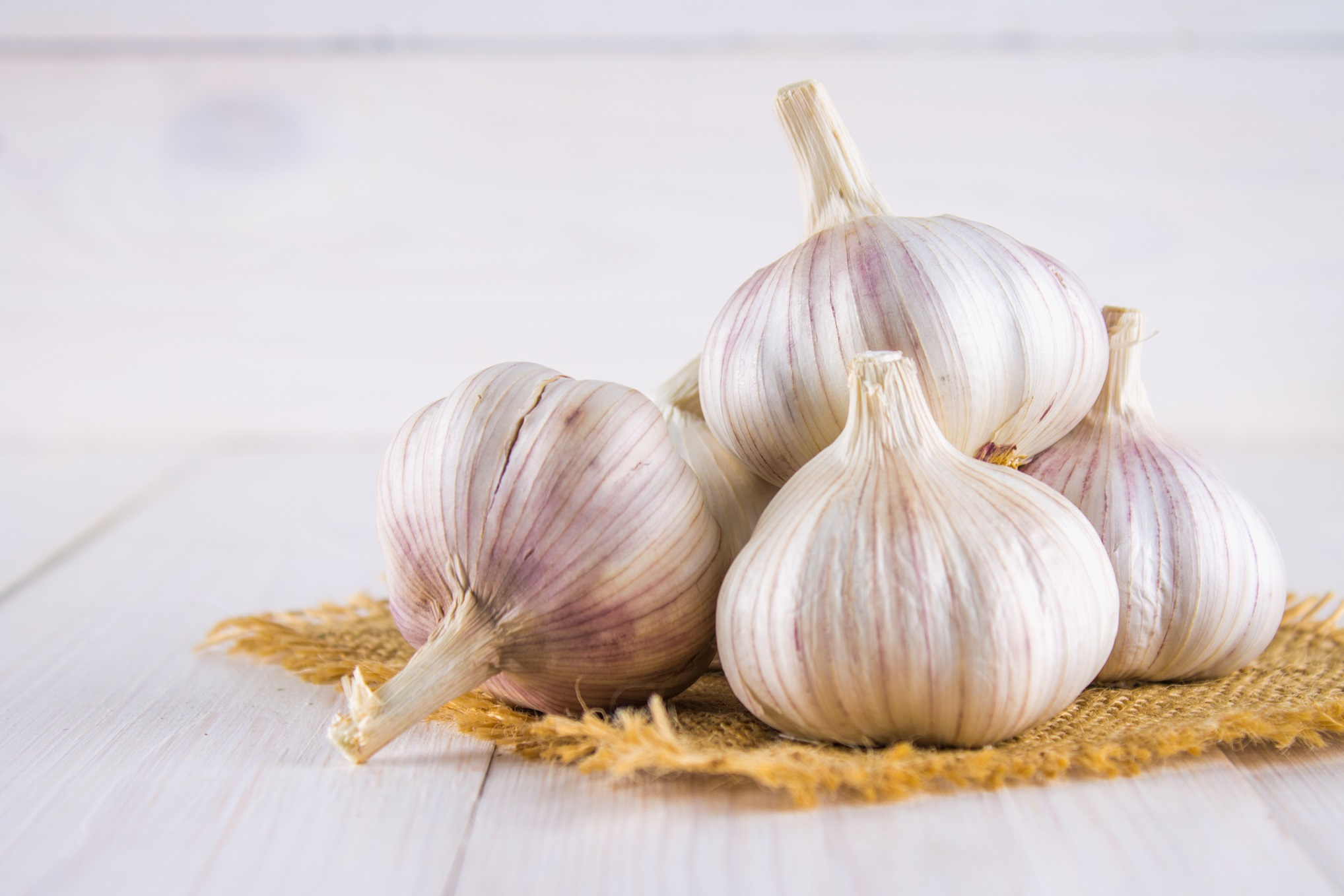 What's the go with garlic?