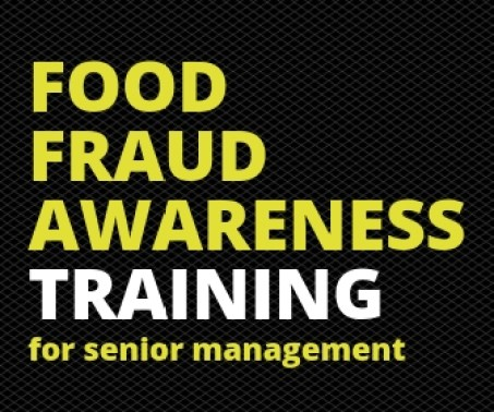 online training food awareness senior management food fraud teams