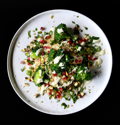 Couscous Broccoli Salad - The Food Gays