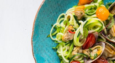 THE FOOD GAYS - Zoodles Vongole