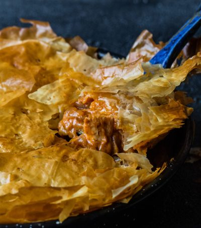 Butter Chicken, phyllo pastry