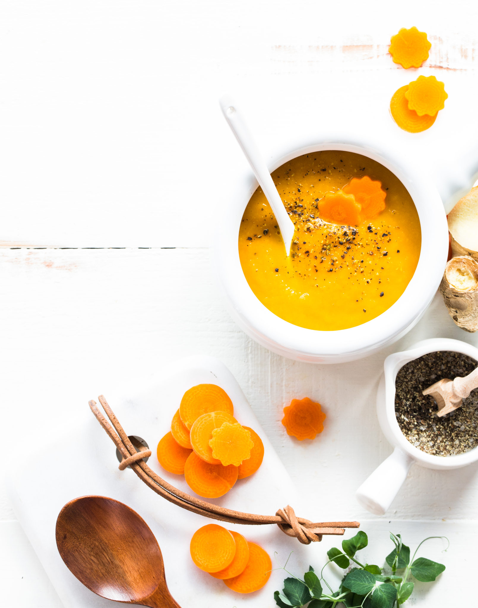 Instant Pot Carrot Fennel Ginger Soup