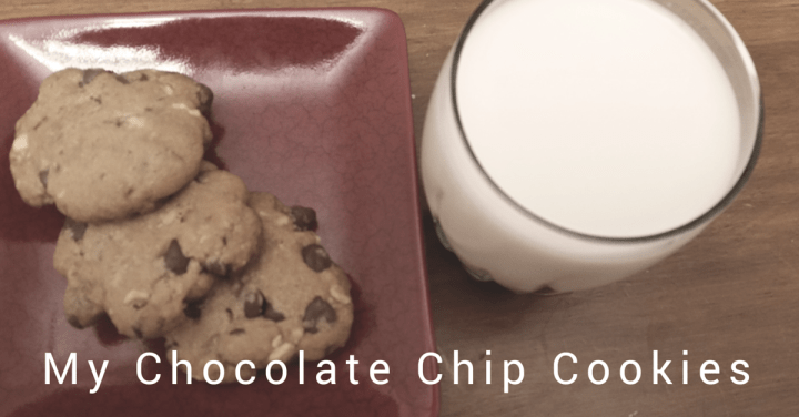 My Chocolate Chip Cookies Banner