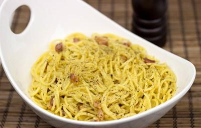 Spaghetti Carbonara from Spiced Blog