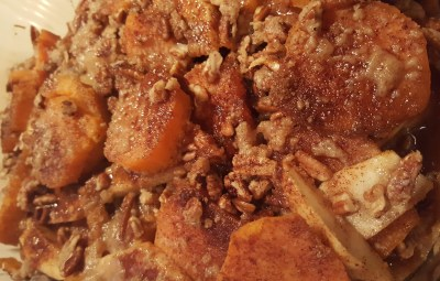 Cooking Wright with Donna:  Apple Sweet Potato Casserole