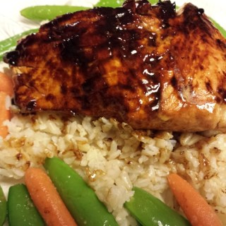 Delicious Glazed Salmon