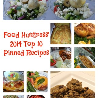 Food Huntress' Top 10 Pinned Recipes in 2014