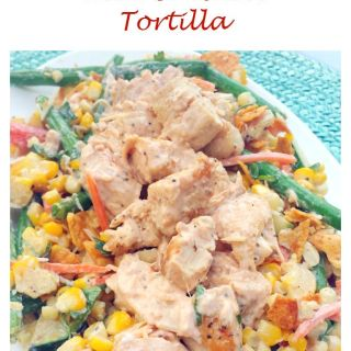 Spicy Naked Corn and Chicken Tortilla