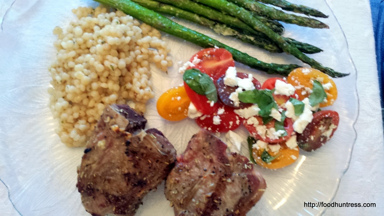 5.3 Grilled Mediterranean Lamb Chops