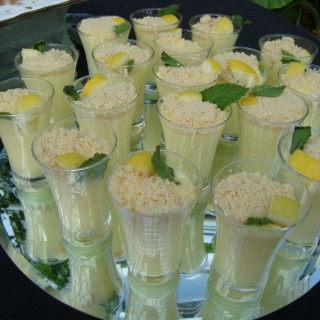 Lemon Mousse Cups