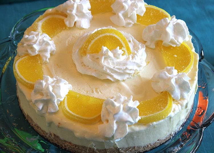 74.8 Lemon Mousse Cake