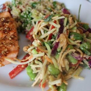 Light Lunch with Girlfriends – Teriyaki Salmon Recipe