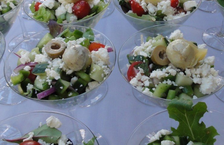 Make Your Own Greek Salad Bar at Home