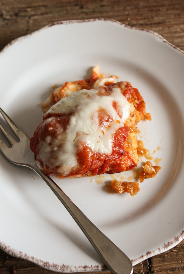 Baked-Chicken-Parmigiano-2-by-An-Italian-In-My-Kitchen 14 MOUTHWATERING CHICKEN RECIPES