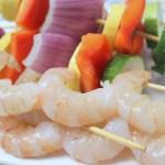 Grilled Lemon Shrimp and Vegetables