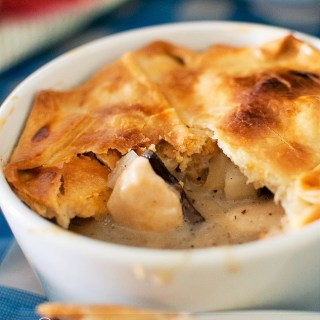 Jamie Oliver's Quick and Easy Chicken Pie