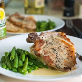 Mustard Pork Chops (Nigella)