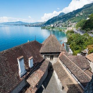 Switzerland Travelogue: Chateau de Chillon (Chillon Castle)