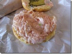 henri's bakery turkey on onion roll open