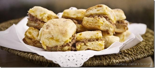 callies charleston biscuits - ham