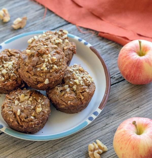 Apple Cinnamon Quinoa Muffins by Letty's Kitchen